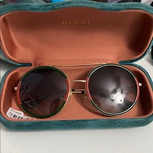 Gucci retro sunglasses